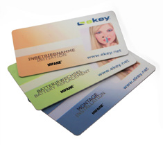 ekey lock RFID card set 3.0
